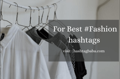 Fashion hashtags image