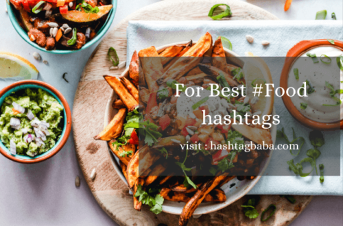 Food hashtags by hashtag baba