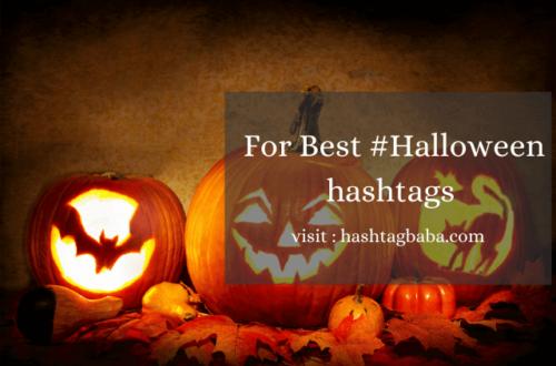 #Halloween hashtags by Hashtag baba