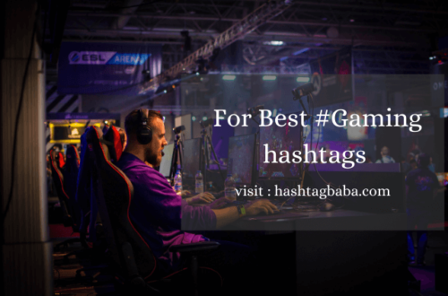 Gaming Hashtags by Hashtag baba