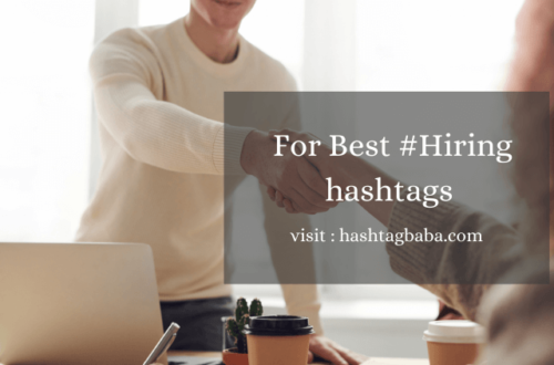 Hiring Hashtags by Hashtag baba