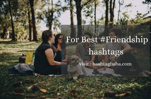 Friendship hashtags by hashtag baba