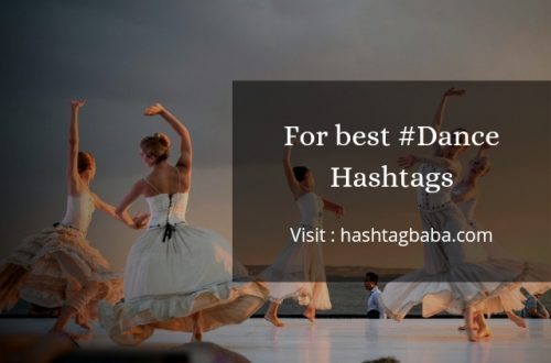 best Dance Hashtags by hashtagbaba.com