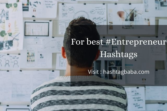 Hashtags for Entrepreneur By hashtagbaba.com